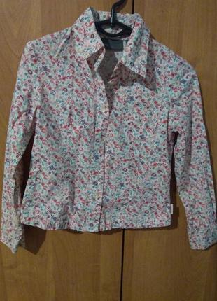 Рубашка детская для девочек