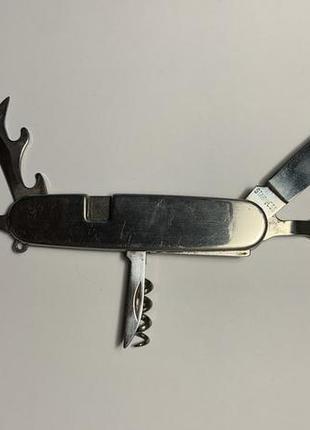 Складная открывашка консервный нож