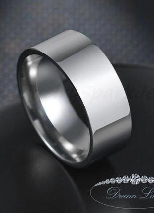 Кольцо из нержавеющей медицинской стали с позолото «скромная роскошь» (р 16.3 18.3 19 20 21 23.3)