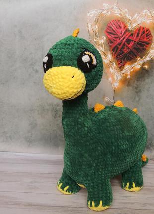 М'яка іграшка динозаврик