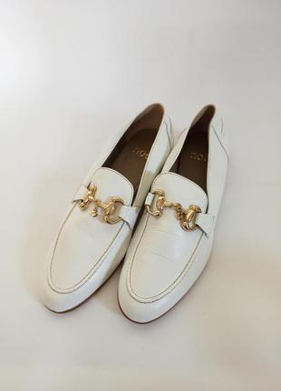 Noe мокасины женские белые.брендове взуття stock