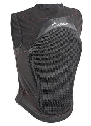 Мягкая защита спины для верховой езды фирмы decathlon (s)
