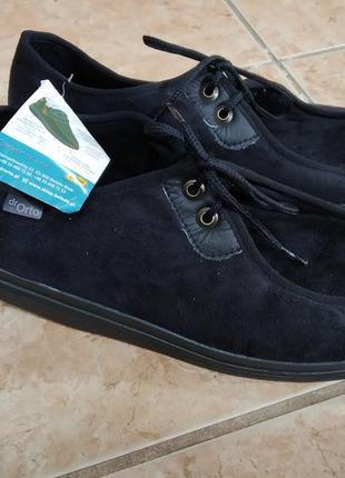 45 р. dr orto новые ортопедические диабетические туфли мокасины ботинки