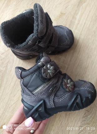 Термочобітки чоботи сапожки primigi 20 р