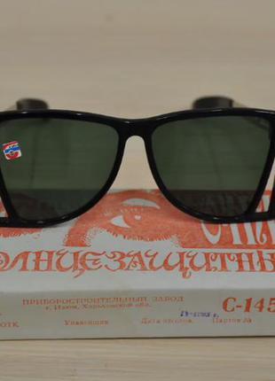 Винтажные женские солнцезащитные очки . стеклянные линзы. ссср 90-е винтаж ретро
