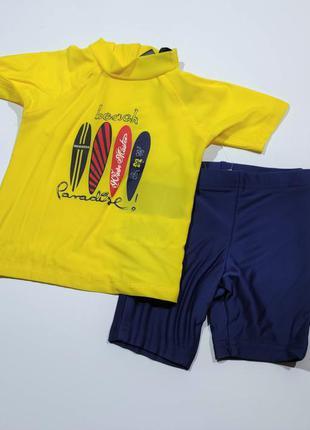 Роскошный плавательный гидро костюм купальник кофта и шорты