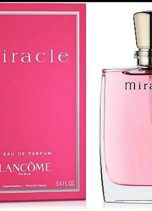 Парфюмированная вода женская lancome miracle l'edp 100 мл