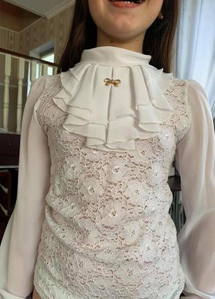 Блузка школьня