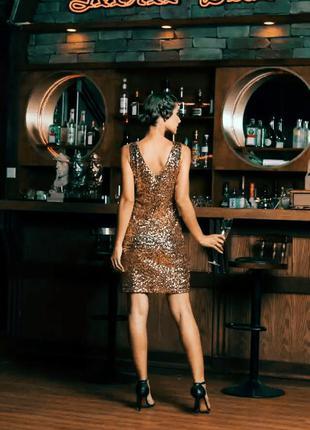 Вечернее платье с паедками