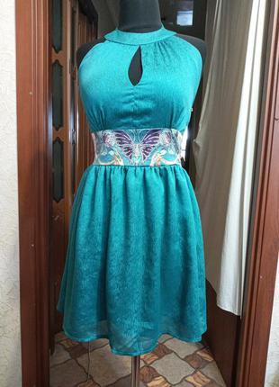 Платье, новое,коктельное ,s - m,  ц. 99 гр
