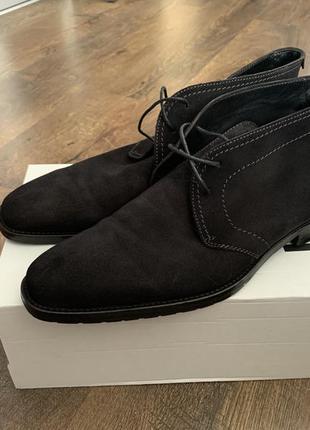 Ботинки hugo boss / оригинал! us11/uk10/29,5 см
