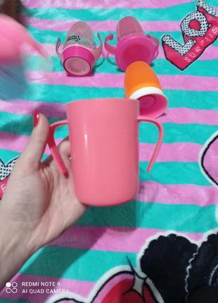 Чашка непроливайка tommee tippee
