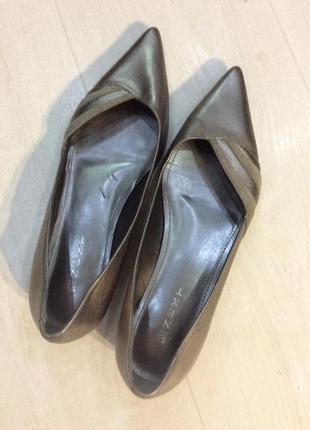 Туфли натуральная кожа бренд next оригинал