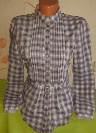 Стильная рубашка/блузка massimo dutti woman washed, made in tunisia, 💯 оригинал