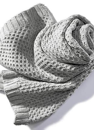 Мягкий теплый шарф tcm tchibo германия