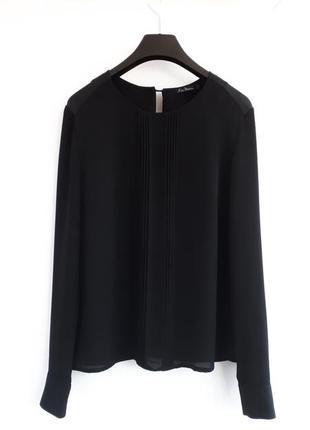 Черная блуза kira plastinina блуза с длинным рукавом черная шифоновая блузка длинный рукав