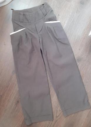 Широкие вельветовые штаны брюки вельветы штани вельветові