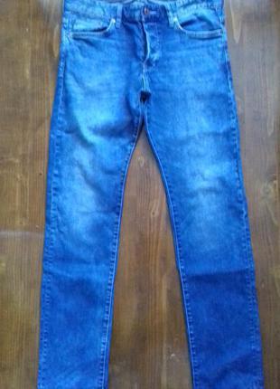 Джинсы слим  h&m 32/32 slim джинси