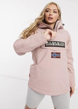 Ветровка -анорак napapijri rainforest jacket,оригинал