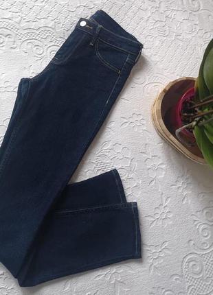 Класичні джинси skinny з високою посадкою від h&m