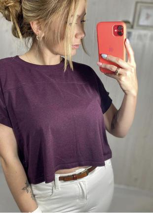 Базова вкорочена футболка