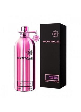 Montale roses musk духи оригинал парфюмированная вода тестер 100 мл 50 мл