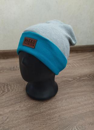 Трикотажная шапка для мальчиков 48-52 размер