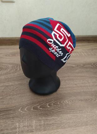 Тонкая шапка для мальчиков 48-52 размер