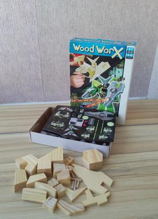 Набір для творчості colorific wood worx