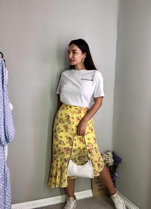 Ассиметричная юбка new look  м, л