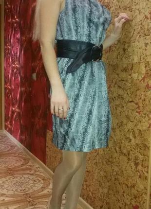 Красивое платье под питона р. м