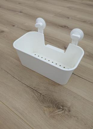 Корзина лоток для ванной икеа на присосках