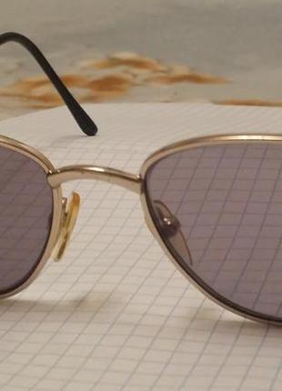 Винтаж  позолота  очки, оправа  унисекс dollond и aitchison