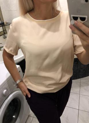 Opus нюдовая блузка