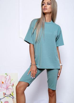 Костюм женский повседневный цвет оливковый 175r003 66469