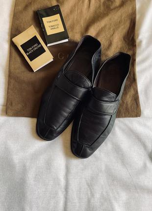Tom ford 🔥кожаные туфли лоферы