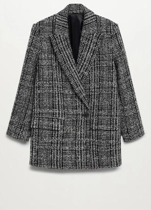 Пиджак-пальто mango