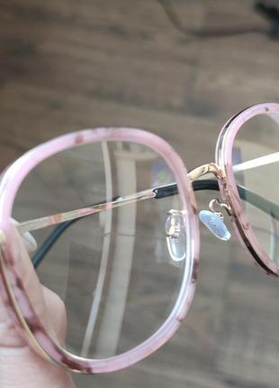 Имиджевые круглые очки