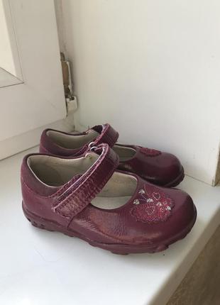 Кожаные туфли туфельки лаковые бордо 🔥🔥🔥