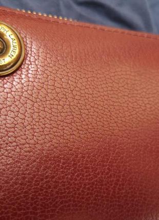 Кошелек ralph lauren, оригинал, полностью кожаный