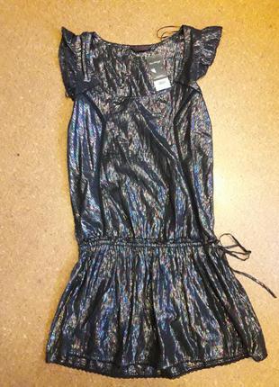 Блестящее,красивое платье!новое!