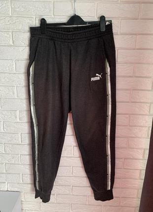 Флисовые спортивные штаны puma