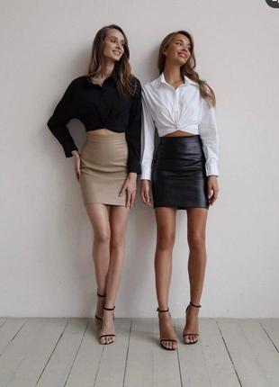 Костюм рубашка + юбка