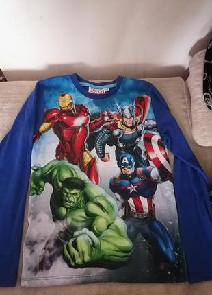 Кофта кофточка реглан марвел халк супергерои мстители marvel avengers