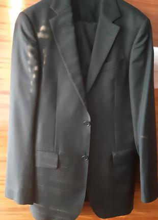 Костюм брючный пиджак и брюки итальянский romano botta