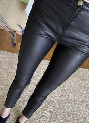 Кожаные лосины, легинсы, штани