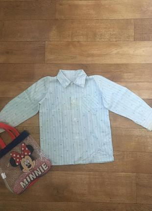 Рубашка для дома на мальчика 3-4 года