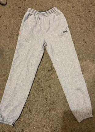 """Спортивные штаны """"slazenger"""" спортивні штани сірі серые"""