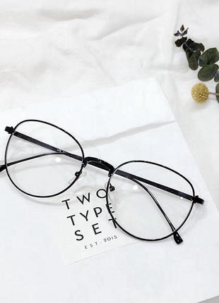 Трендовые имиджевые очки
