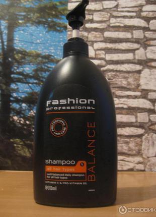 Шампунь для волос fashion professional balance shampoo (нидерланды)